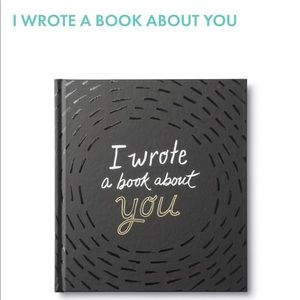 ✨Brand New ✨I Wrote A Book About You